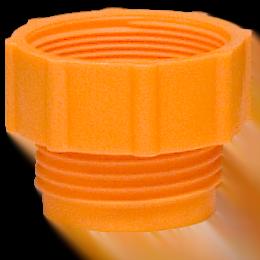 Gängadapter Orange, med mindre plastgänga 1