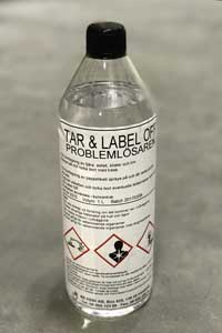 Tar & Label off