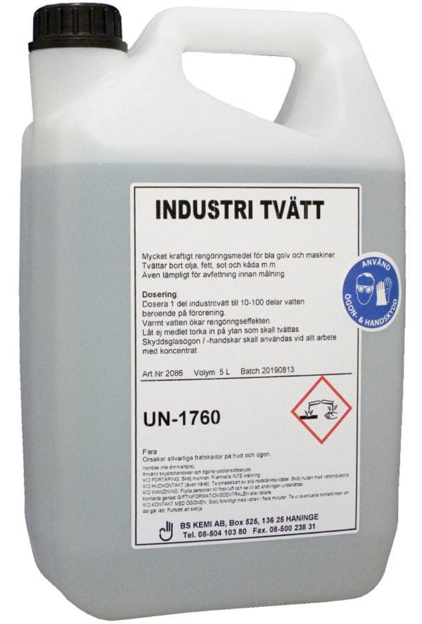 Industritvätt
