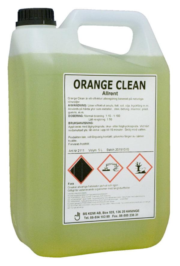 Orange Clean