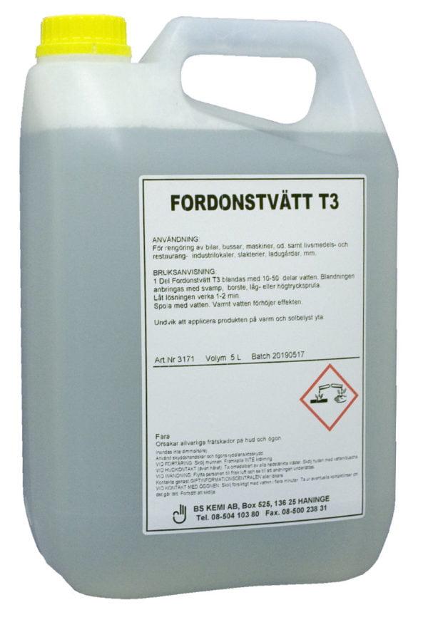 Fordonstvätt T3