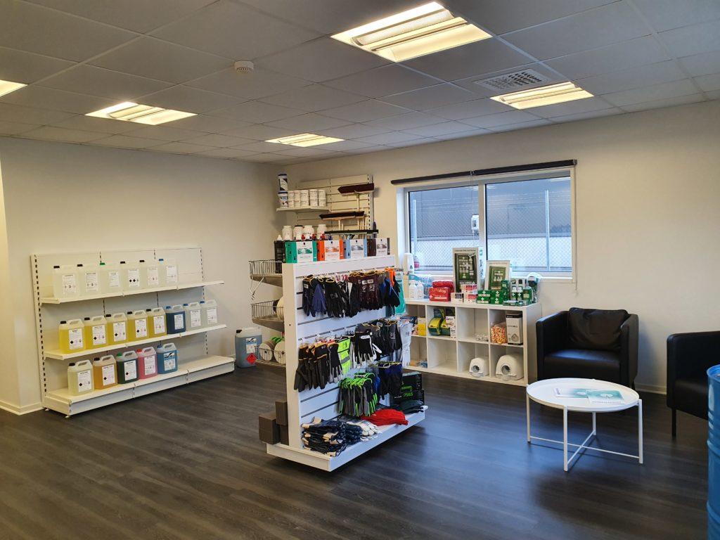 Välkommen in till vår nya proffsbutik! 1