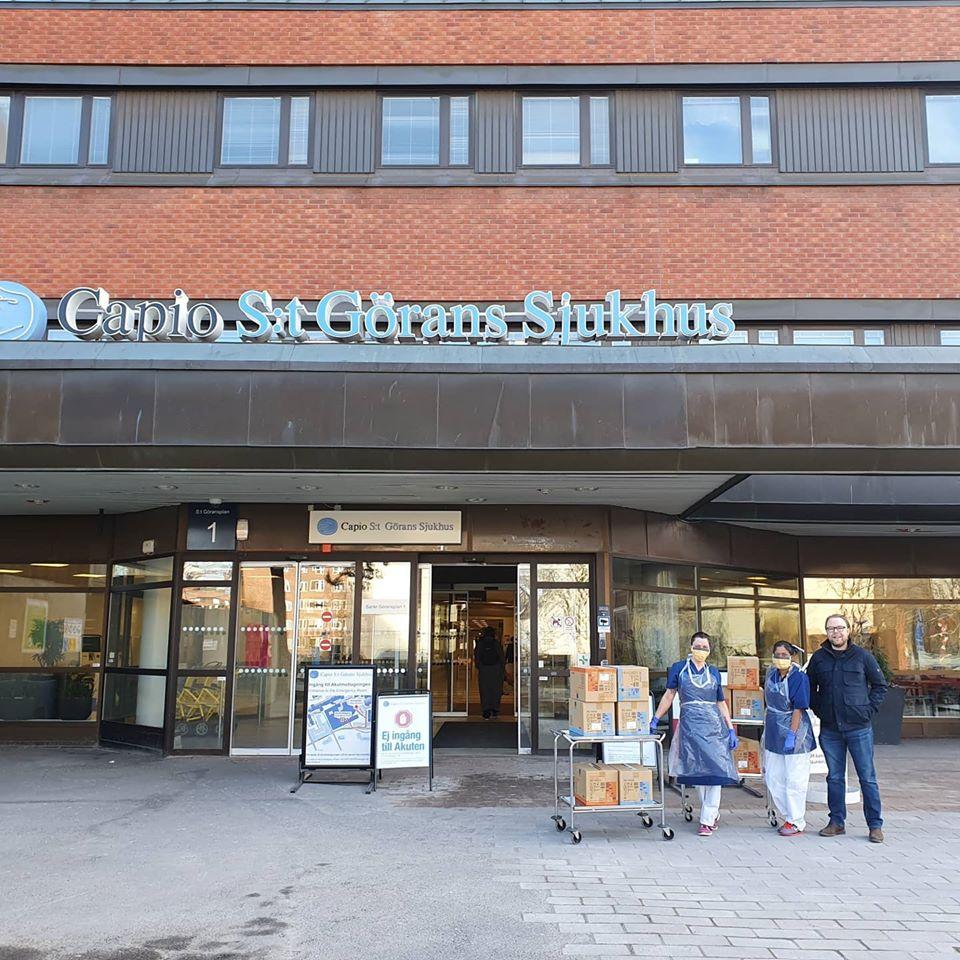 BS Kemi bidrar med skyddsutrustning till sjuvården! 1