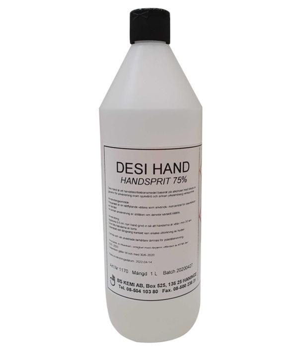 Desi Hand, Handsprit 1-liter, 12-pack 1