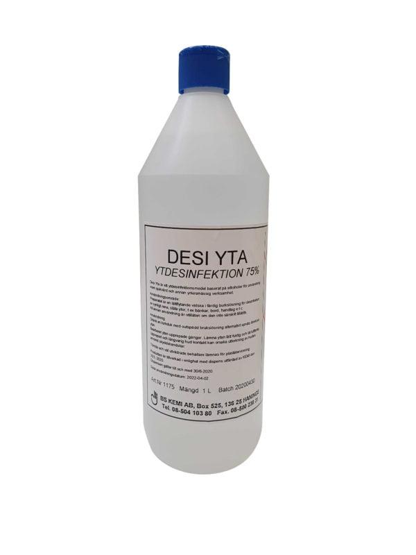 DESI YTA, Yt desinfektionsmedel 1-liter, 12-pack 1
