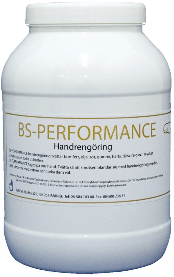 BS-Performance handrengöring