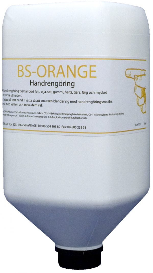 BS-Orange handrengöring