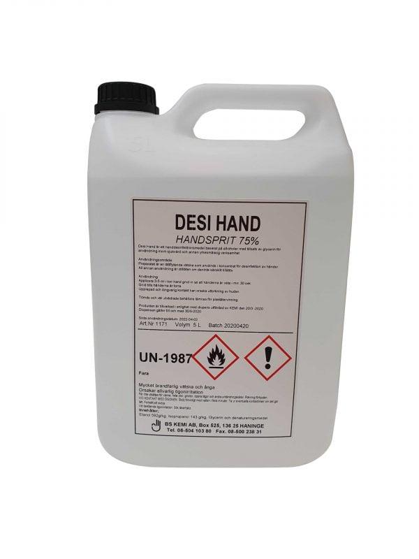 DESI YTA, Yt desinfektionsmedel 5-liter, 4-pack 2