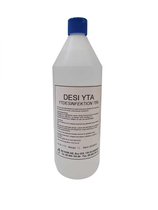 DESI YTA, Yt desinfektionsmedel 1-liter, 6-pack 1