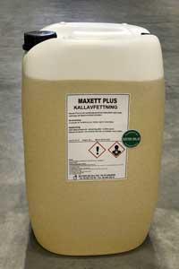 Maxett Plus kallavfettning
